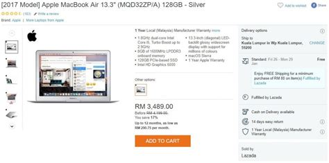 Macbook Lazada apple macbook air only at rm2799 only at lazada zing gadget