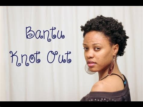hairstyles for short and thin type 4c hair how to bantu knots on short 4c natural hair youtube