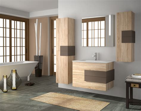 bagno colore arredo bagno design moderno mobile lavabo sospeso bicolor