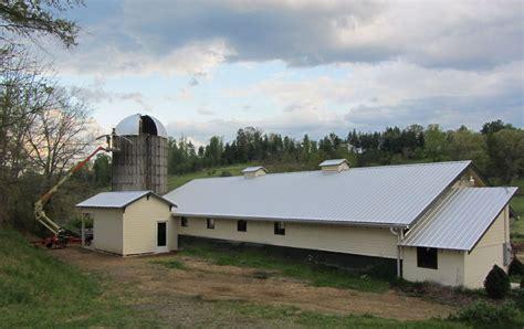 Barn On A Dairy Farm Yesterday Spaces Dairy Barn