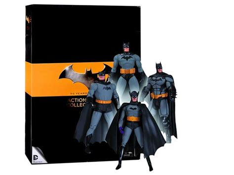 batman figure 4 pack batman 75th anniversary figure four pack