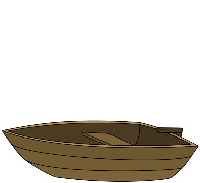 cartoon boat brown row boat picture cliparts co