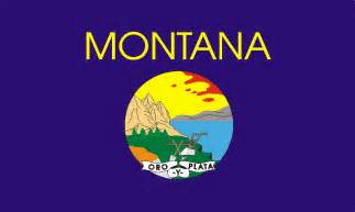 montana state colors usa state flags printable state flags