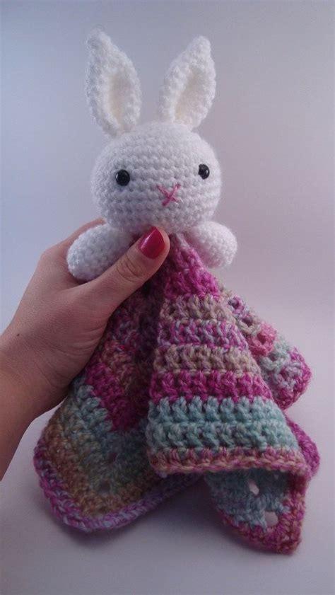 bunny lovey crochet pattern free crochet bunny crochet rabbit amigurumi crochet bunny