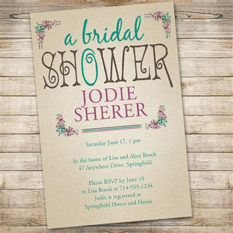 affordable vintage bridal shower invitations ewbs040 as low as 0 94