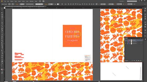 How To Set Up A Presentation Folder In Adobe Illustrator For Offset Printing Free Adobe Illustrator Templates