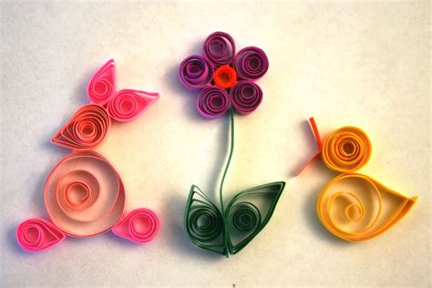 Paper Quilling Crafts For - easy quilling ideas easy arts and crafts ideas