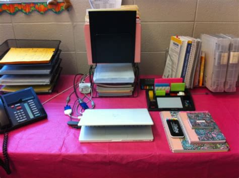 Organize Computer Desk Middle School Math After School Routine Checklist