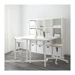 Ikea Desk Chair Combo Kallax Desk Combination White 147x147 Cm Ikea