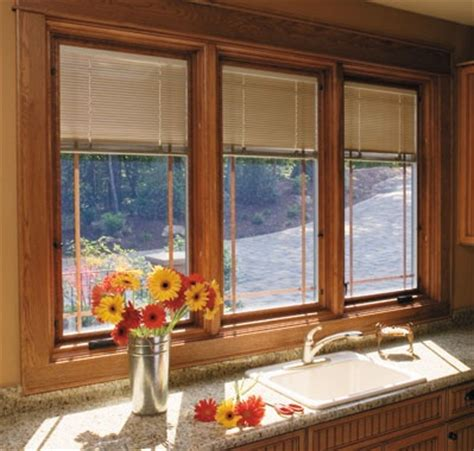 Window Treatments For Casement Windows Casement Windows With Built In Shades Home