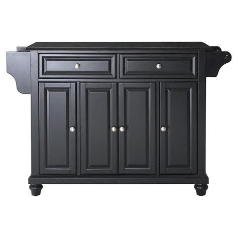 kitchen island black granite top cambridge solid black granite top kitchen island black