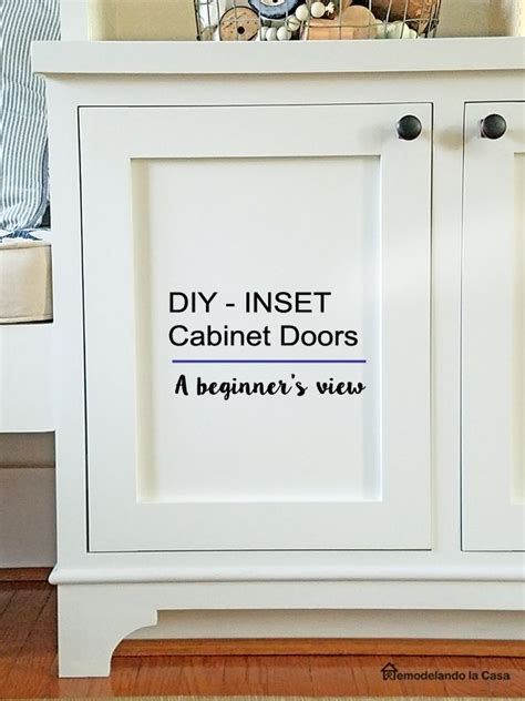 Kitchen Cabinet Doors Diy by Best 25 Inset Cabinets Ideas On Pinterest Bathroom