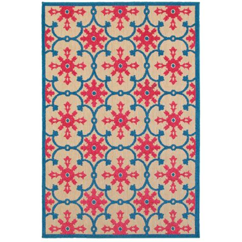 10 ft outdoor rug home decorators collection lilo blue 10 ft x 13 ft