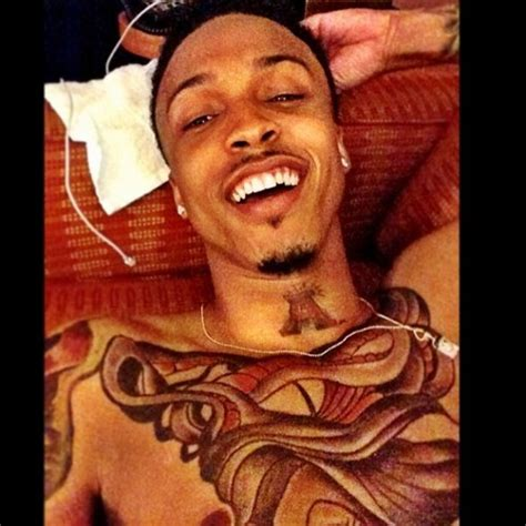 all of august tattoos groupie tales me plan b august alsina in la baller