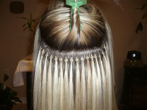beaded hair extension microbead hair extensions cold fusion hair extensions