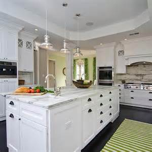 Size Of Kitchen Island With Seating mercury glass pendants transitional kitchen case design