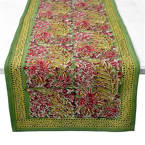 couleur nature runner buy couleur nature bougainvillea 90 inch runner in
