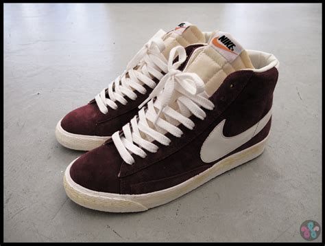 Brown Stussy Woei the new originals nike blazer vintage quickstrike woei