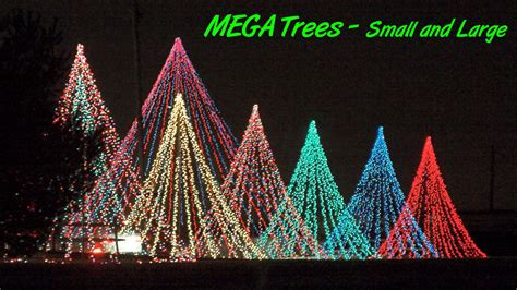 different ways to light a christmas tree how to make the ultimate light feature the mega tree