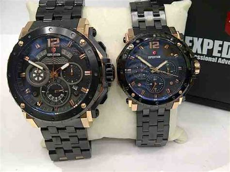Jam Expedition 6402 Black Rosegold jual expedition 6402 baru jam expedition terbaru