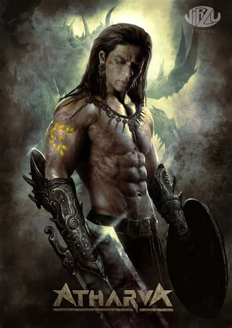latest biography movies 2015 check out srk s new look from atharva the origin shah rukh