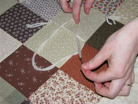 Quilt Tying Methods by How To Tie A Quilt Quilts
