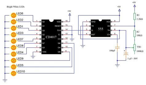 led circuit diagram 27 wiring diagram images