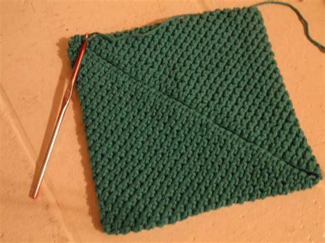how to knit a potholder crochet pot holder tutorial potholders dress blues and