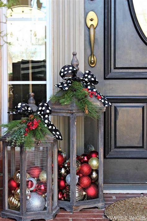 christmas outdoor decorations interior design styles and most creative christmas decorations crafty morning