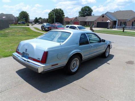how make cars 1992 lincoln mark vii seat position control find used 1992 lincoln mark vii lsc with 27 100 original miles in owensboro kentucky united states