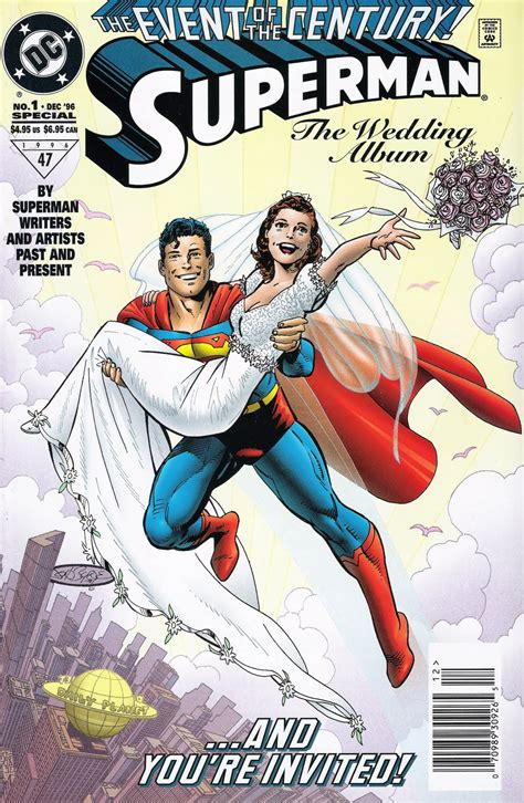 Wedding Comic Book Covers by Transforming Seminarian The End Of Superman S Marriage