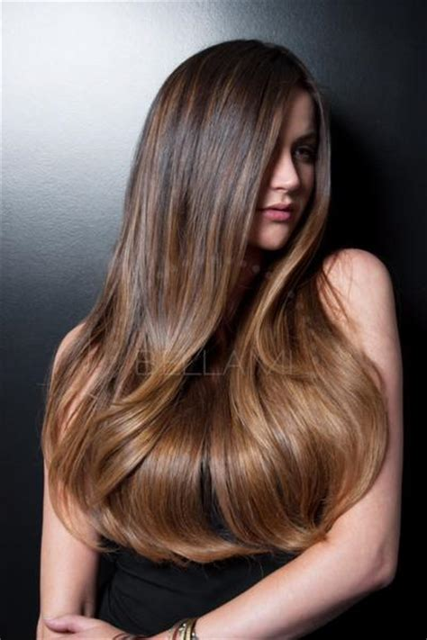 what color is closest to bellami 1c balayage 160g 20 quot ombre dark brown chestnut brown hair
