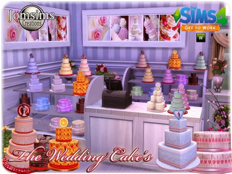 Wedding Cake On Sims 4 by Cc Wedding Cakes For The Sims 4 Get To Work Sims Community