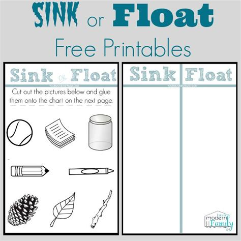 Is It Better If Your Floats Or Sinks sink and float worksheet davezan