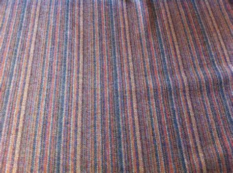 retro fabric curtains retro pure shetland wool multicolour stripe curtains