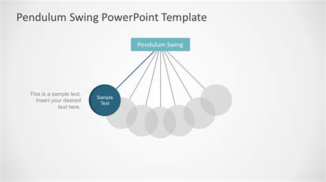template powerpoint simple pendulum powerpoint presentation slidemodel