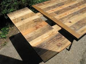Pallet Table Top by Diy Industrial Pallet Dining Table 99 Pallets