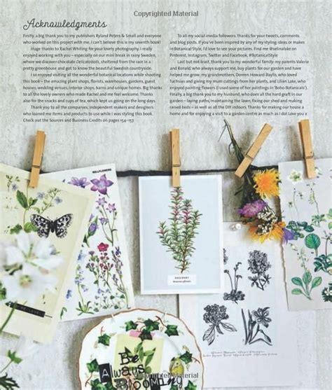 Botanical Style By Selinalake Inspirational Decorating