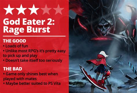 Kaset Ps4 God Eater 2 Rage Burst god eater 2 rage burst review ps4 is best played with mates and on ps vita daily