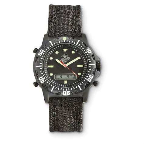 usmc analog digital cordura 622257 watches at