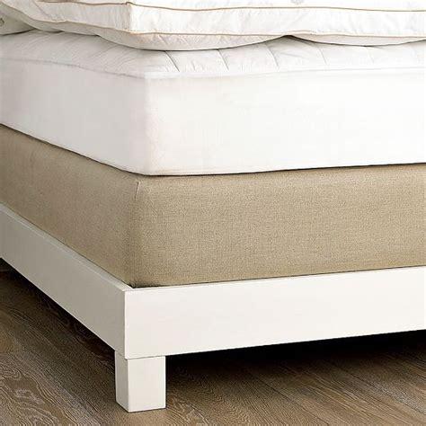 linen box cover modern mattresses by west elm