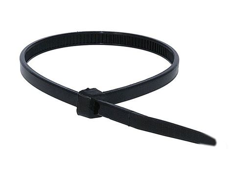cable tie 8 inch 40lbs 100pcs pack black monoprice