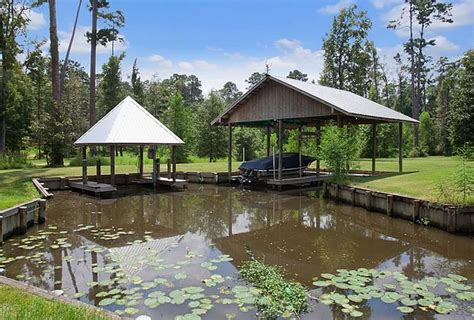 Home Plans With Guest House 18 Acre Mediterranean Riverfront Estate In Covington