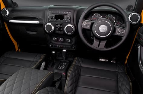 yellow jeep interior the chelsea truck company cj300 expedition by kahn