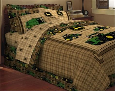 John Deere Traditional Bedskirt