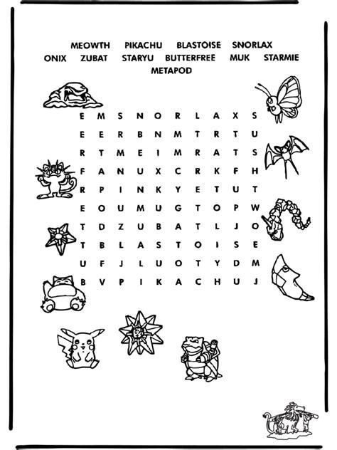 Pokemon puzzle 6 - puzzle