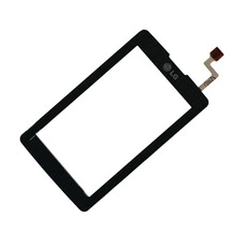 Touchscreen Lg Kp500 Black touch screen digitizer for lg kp500 cookie white by