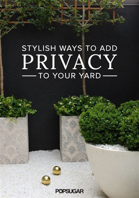 ways to get privacy in backyard 4 stylishly sneaky ways to add privacy to your yard