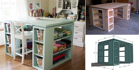 diy craft table diy modern craft table home design garden architecture magazine