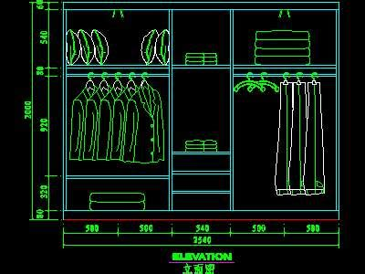 Dressing Table Wardrobe Detailed 15 Free Download Autocad
